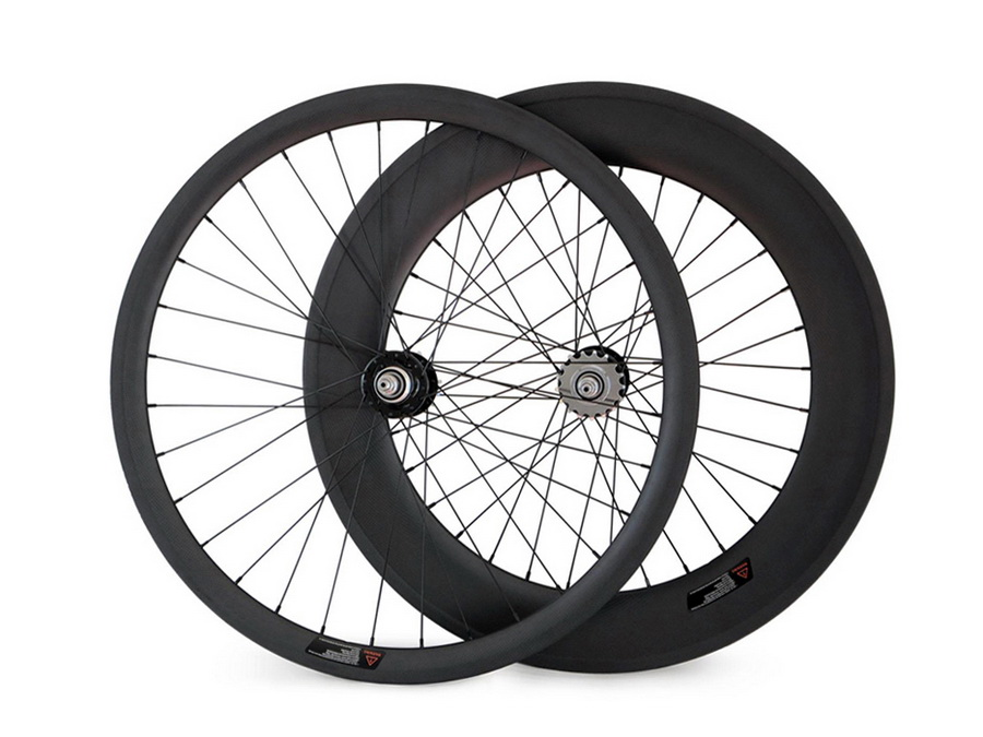 Carbon Single Speed Wheels Track Fixed Gear Wheelset