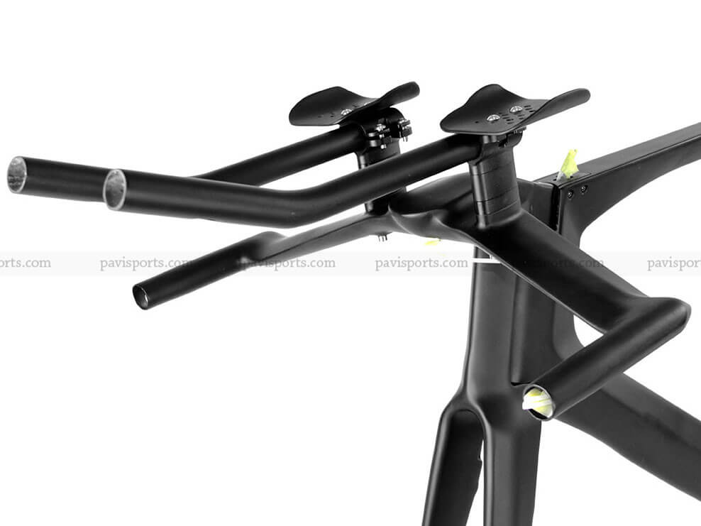 700c Full Carbon Tt Frame Aero Time Trial Bicycle Frames Kits